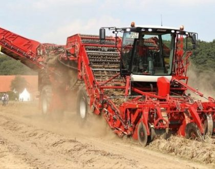 530HP 4-row giant: Grimme wheels out its biggest potato harvester yet