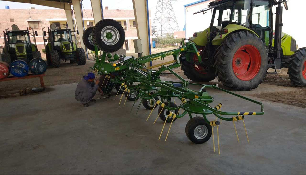 Brand new Krone equipment Sold in Pakistan